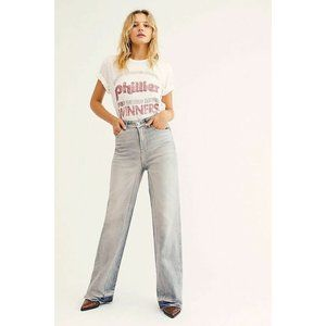 NEW We the free people Relaxed Straight Slouch Jea